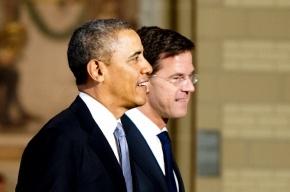 Лидеры США и Нидерландов договорились ужесточить политику против России