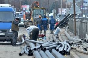 В августе в Колпино заменят водопроводные трубы