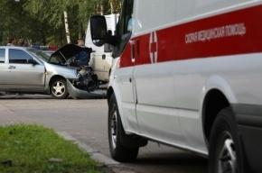 В массовом ДТП на КАД двое получили травмы