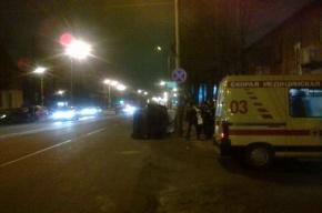 Автобус Петербург – Москва перевернулся под Тверью, двое пострадавших