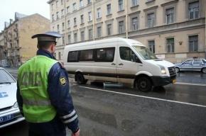Маршрутка врезалась в Matiz на Светлановском проспекте