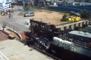 Российская и украинская военная техника движутся к Крыму