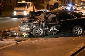 Три автомобиля разбились на набережной Робеспьера