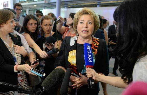Матвиенко: На Украине победила партия войны