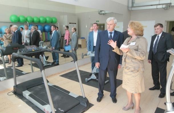 В Петербурге открылся спортзал с бассейнами для инвалидов
