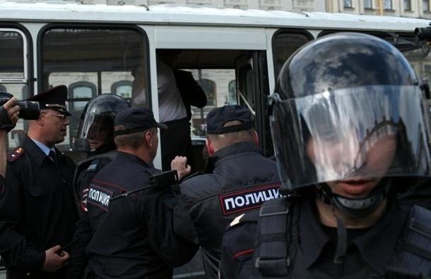 В Москве задержана группа вооруженных граждан Украины