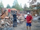 Фоторепортаж: «Колтушское шоссе 11, пожар»