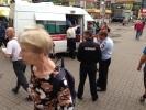 На станции «Приморская» пассажир упал на рельсы: Фоторепортаж