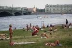 Фоторепортаж: «Аномальная жара в Петербурге»