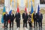 Фоторепортаж: «Путин - Порошенко, переговоры в Минске 28 августа 2014»