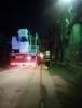 В Петербурге горела бывшая кожевенная фабрика: Фоторепортаж