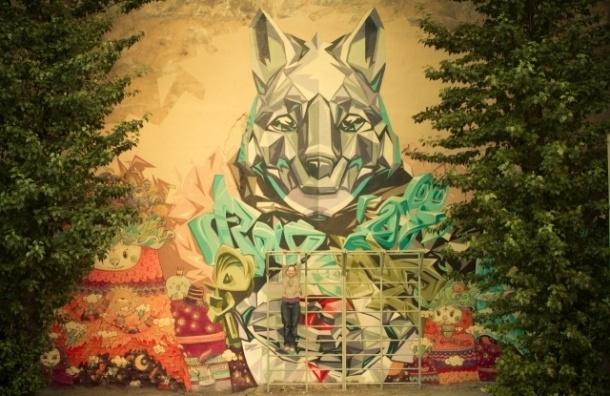 Город выделяет художникам стены для граффити в каждом районе