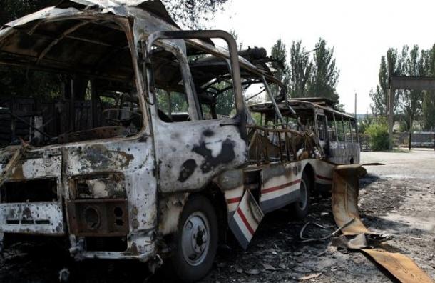 Число погибших на юго-востоке Украины удвоилось за две недели