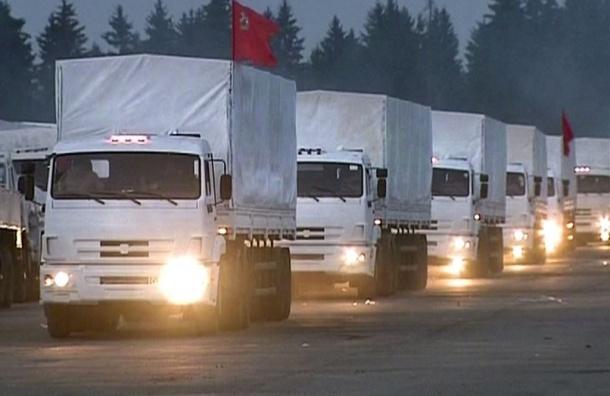 Киев признал российский груз гуманитарной помощью