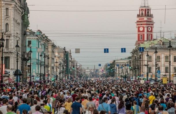 Полтавченко: Невский может стать пешеходным по выходным