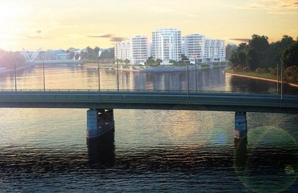 Через Ждановку перекинут новый пешеходный мост