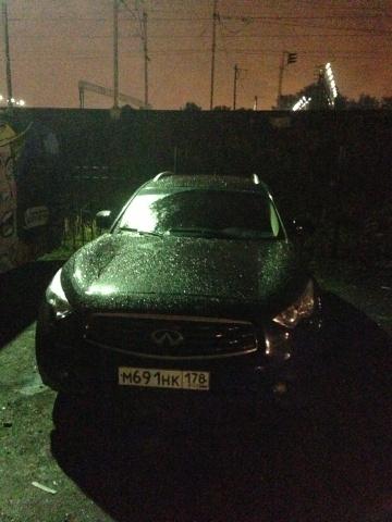 Три угнанных автомобиля обнаружили во Фрунзенском районе Санкт-Петербурга в ночь с 24 на 25 августа.: Фото