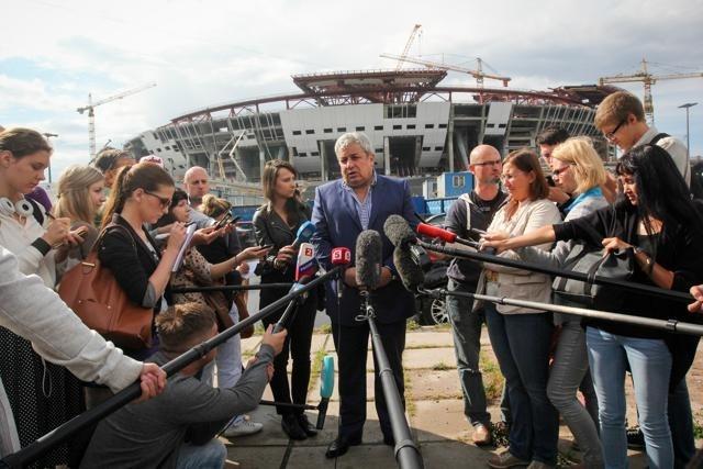 УЕФА подтвердила готовность Петербурга принять Евро-2020: Фото