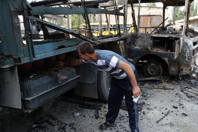Донецк 13 августа 2014: Фото