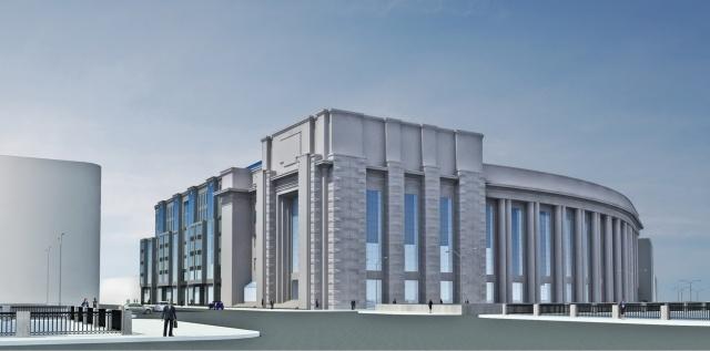 Один из проектов расширения Фрунзенского универмага: Фото
