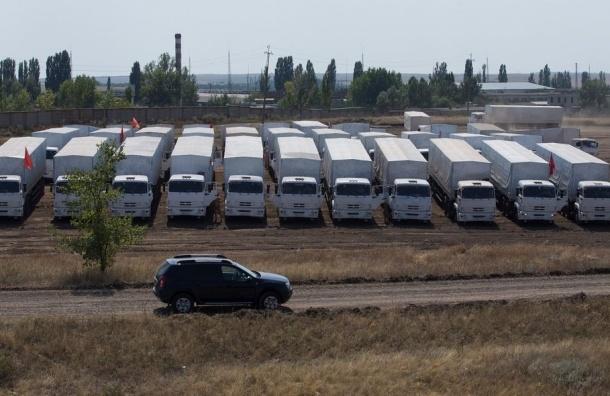 Гуманитарному конвою запретили промежуточные остановки на Украине