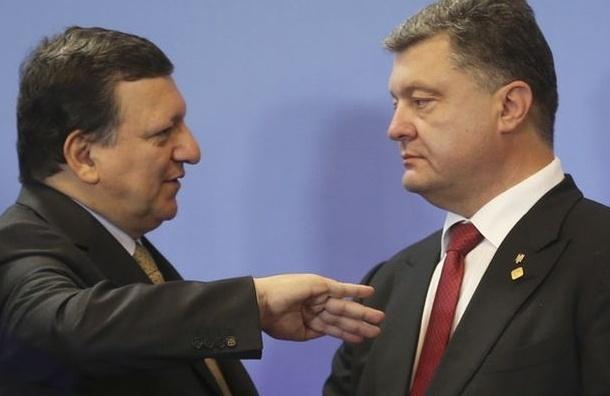Баррозу: Мы готовы принять жесткие санкции, но не хотим новой холодной войны