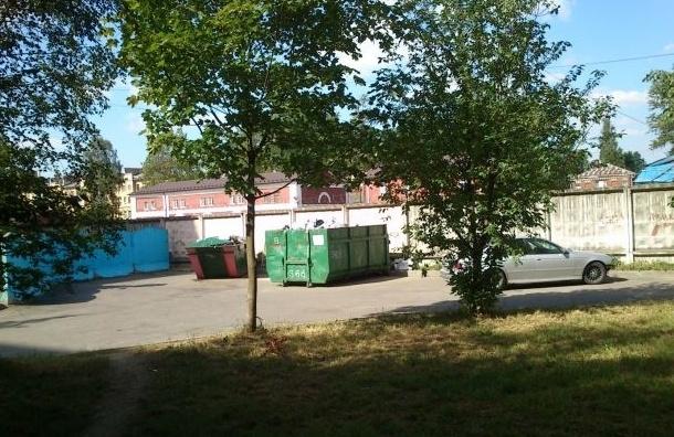 Жители Калининского района возмущены ликвидацией мусорных контейнеров
