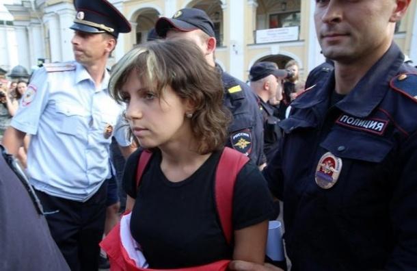Полиция задержала двоих активистов на Стратегии-31