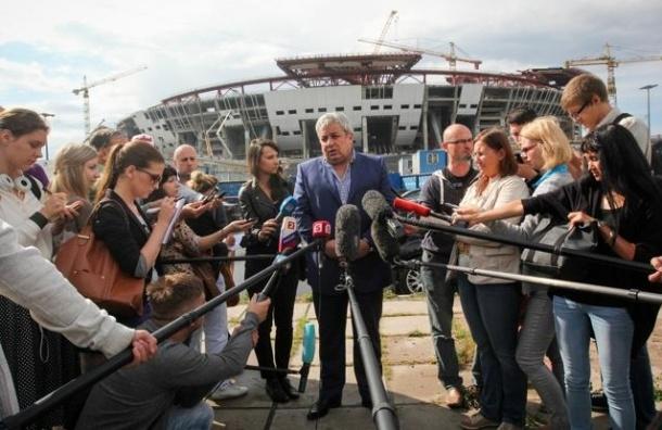 УЕФА подтвердила готовность Петербурга принять Евро-2020