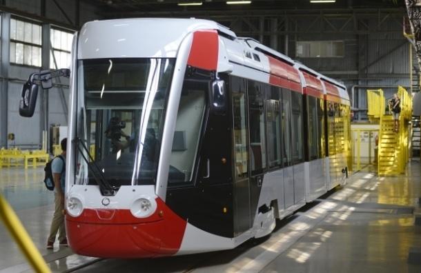 В Петербурге появятся две линии легкорельсового трамвая и аэроэкспресс