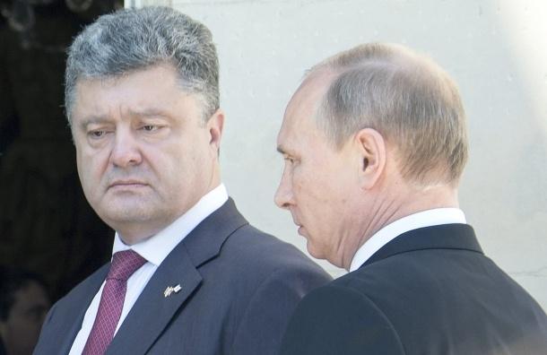 Путин не обсуждал с Порошенко условия прекращения огня на Украине