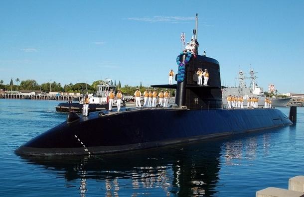 Японскую подлодку обнаружили на границе с Россией