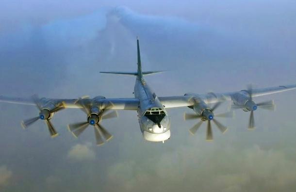 Японские истребители были подняты на перехват бомбардировщиков РФ