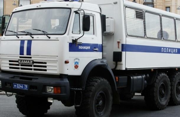 В центре Москвы задержали единственного участника антивоенного митинга