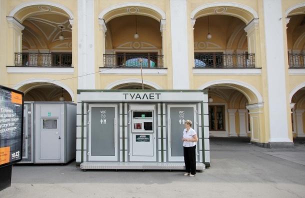 В центре Петербурга появился элитный общественный туалет