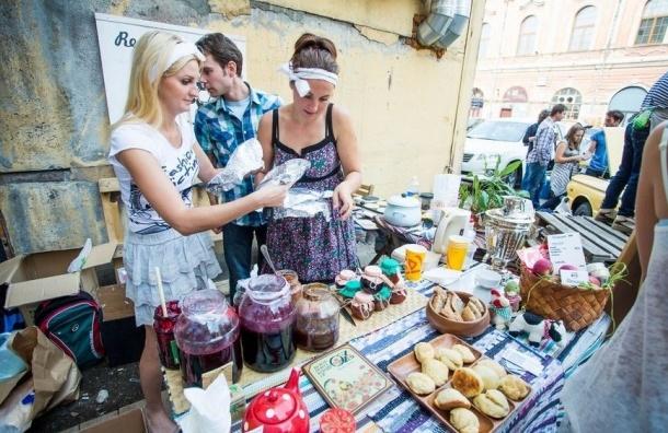В Петербурге полиция пресекла торговлю десертами в рамках «Ресторанного дня»