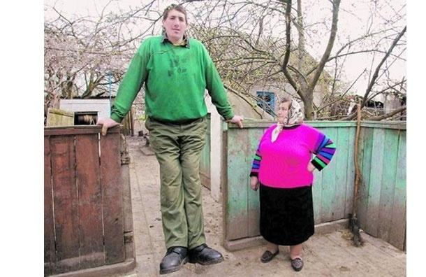 На Украине умер самый высокий человек в мире