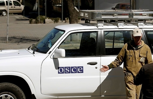 Наблюдатели ОБСЕ попали под обстрел в Ростовской области