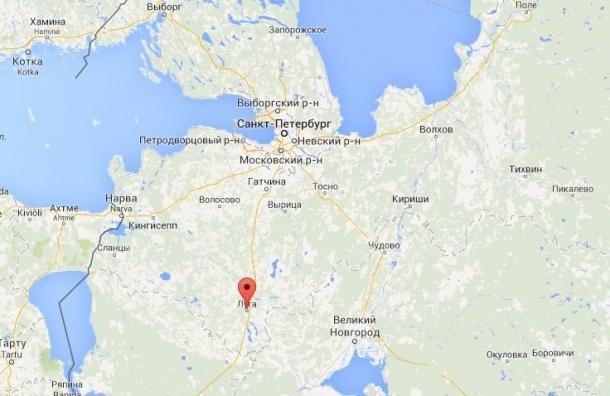 В Ленобласти около 40 тыс. жителей остались без света из-за пожара