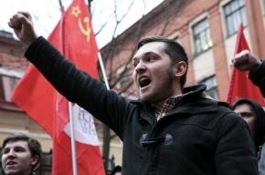 Консульство Украины в Петербурге забросали дымовыми шашками