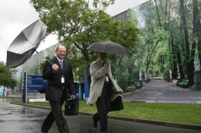 В пятницу в Петербурге ожидаются ливни и грозы