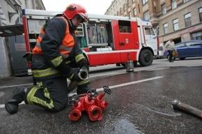 В День железнодорожника тушили пожар в офисе ОЖД