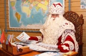 Российский Дед Мороз привезет прохладу детям Петербурга
