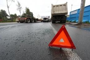 Три человека пострадали в аварии на трассе Петербург-Псков