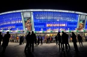 В Донецке бомба попала в стадион «Донбасс-Арена»