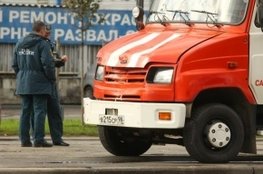 В Петербурге иномарка протаранила бензовоз