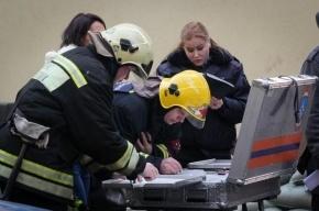 В Москве сгорел склад с автомобильными покрышками