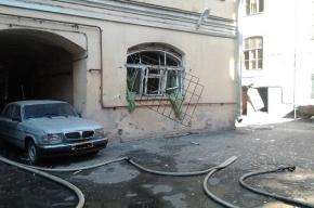 В центре Петербурга из-за взрыва газа эвакуировали 20 человек