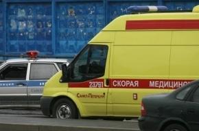 В Петербурге замечены колонны военных автомобилей скорой помощи