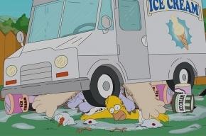 Гомер Симпсон принял участие в Ice Bucket Challenge